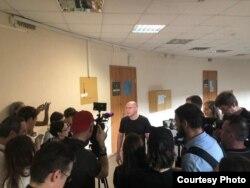 Игорь Рудников после приговора