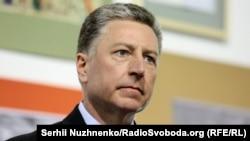 Cпецпредставитель госдепартамента США по Украине Курт Волкер