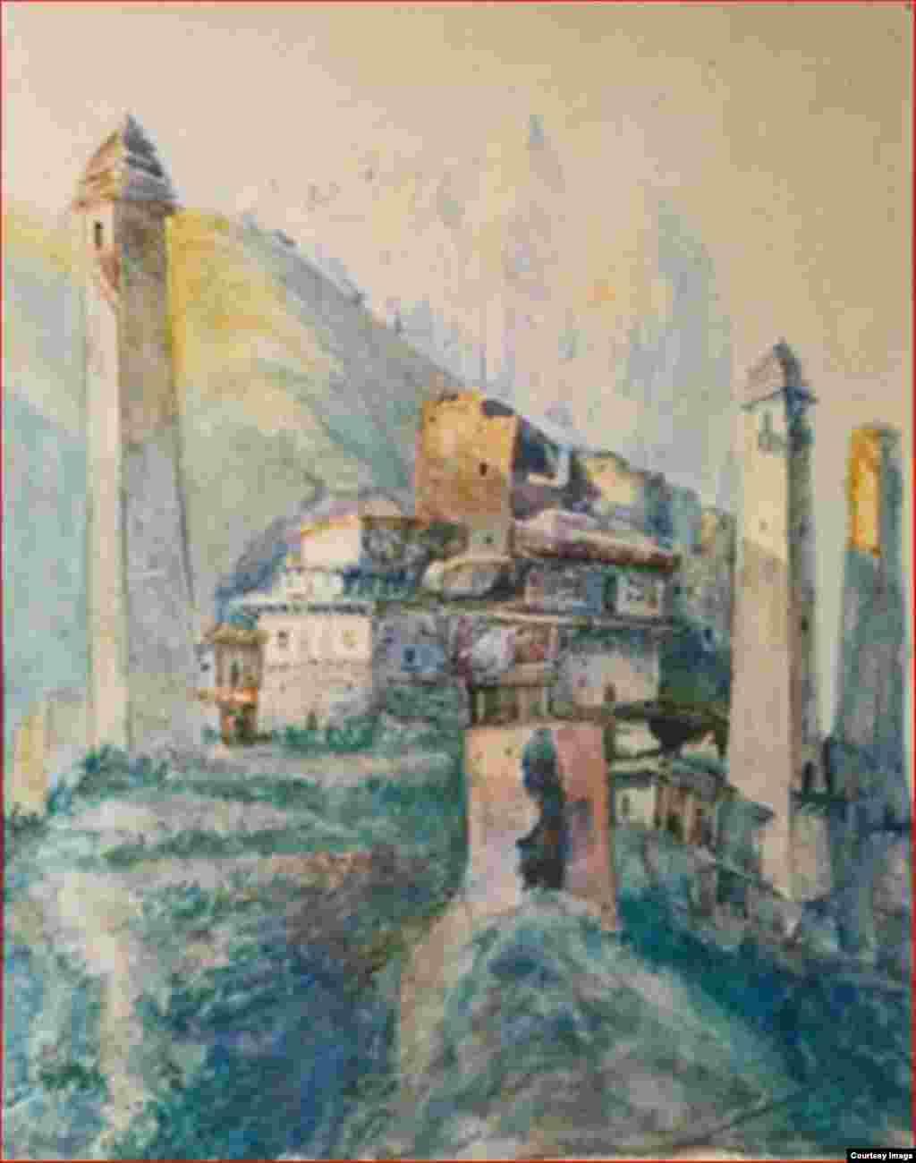 Аул Лейлах, 1928 г.