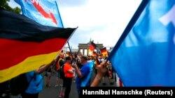 Берлиндеги митингдер. 27-май, 2018-жыл.