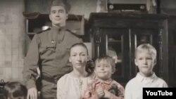 """Кадр из ролика """"Женщины устали рожать солдат"""""""
