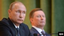Has Putin kicked Ivanov off the island?