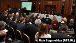 Pamje nga Parlamenti i Gjeorgjisë