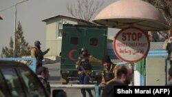 Кабулдағы қауіпсіздік күштерінің сарбаздары (Көрнекі сурет).