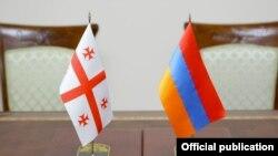 Հայաստանի և Վրաստանի դրոշները, արխիվ