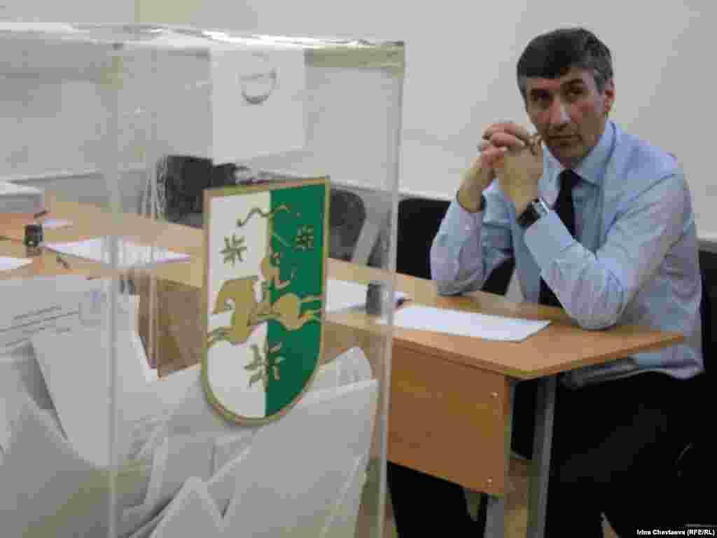 Выборы президента республики Абхазия в Москве.