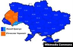 Результаты президентских выборов в 1991 году