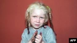 Vajza e gjetur në kampin rom në Farsala, e njohur si Maria