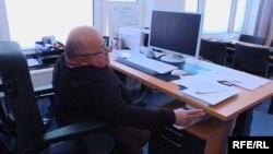 Освальд Утц на робочому місці