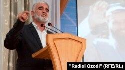 """""""Тәжікстан ислам қайта өрлеу партиясы"""" төрағасының бірінші орынбасары Саидумар Хусайни."""