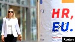 """""""Živi zid zastupa izlazak Hrvatske iz Evropske unije i iz NATO-a, odustajanje od eura"""" (ilustrativna fotografija)."""