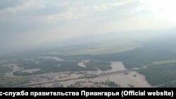 Повторное наводнение в Приангарье