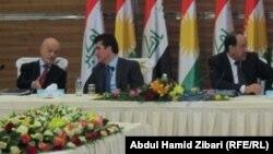 من لقاء سابق بين مسؤولي إقليم كردستان بالحكومة المركزية
