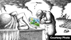 Karikature Mane Neyestanija