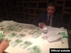 Задержание Никиты Белых, фото Следственного комитета