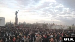 Бишкектеги нааразылык