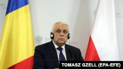 Romanian Agricultural Minister Petre Daea