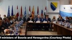 Ministarski sastanak u Sarajevu