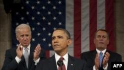 Președintele Obama în fața camerelor reunite ale Congresului american