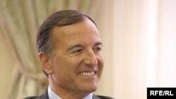 Italian Foreign Minister Franco Frattini