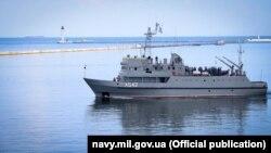 Катер в порту Одеси