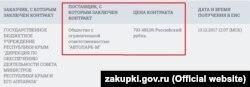 Немецкие запчасти и масло для «Мерседеса» крымского правительства поставила местная фирма «Автопарк-М»