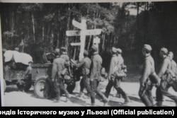 Салдаты вэрмахту ў раёне Львова