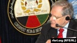 مارک باودن مسوول همآهنگ کنندهء امور بشری سازمان ملل