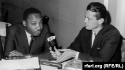 Radio Liberty editor Francis Ronalds interviews Martin Luther King Jr. about the ongoing fight for equal rights in America in 1966.