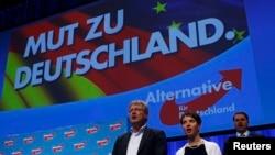 """""""Германия үчүн альтернатива"""" партиясынын курултайы. Штутгарт, 1-май, 2016-жыл."""
