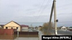 Солтүстік Қазақстанда су тасқынынан 9 үй қирады