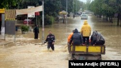 Floods in Obrenovac, Serbia