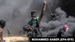Protestues palestinez, foto nga arkivi.