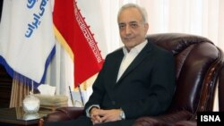 Глава Центра страхования Ирана Мухаммад Ибрагим Амин.