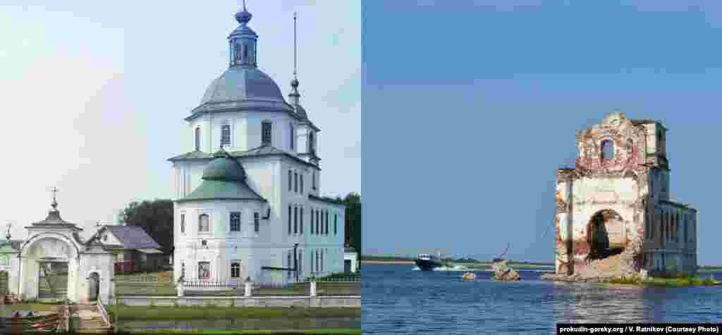 Church of the Nativity of Christ, Krokhino, Russia. 1909/2013