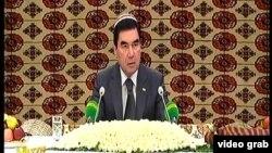 Президент Туркменистана Гурбангулы Бердымухаммедов.