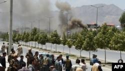 У афганского парламента в день штурма
