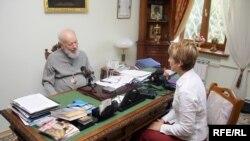Митрополит Володимир (Сабодан) під час інтерв'ю Радіо Свобода, липень 2009 року