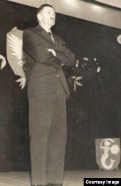 Флярыян Чарнышэвіч, Аргентына, 50-я гг.