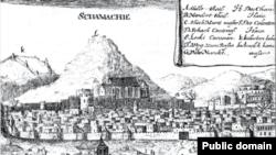 منظره شماخی، سال ۱۶۳۷ میلادی