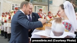 Donald Tusk şi Nicolae Timofti