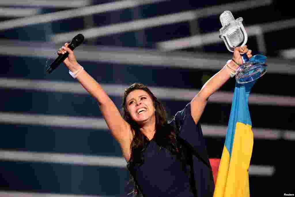 Джамала перемогла на «Євробаченні-2016»