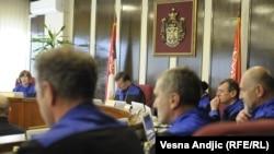 Pamje nga Gjykata e Lartë në Beograd