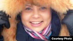 Активистка Молодежной информационной службы Казахстана Елена Швецова. Фото из личного архива.