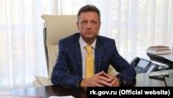Російський міністр охорони здоров'я Криму Олександр Остапенко