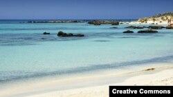 Jedna od grčkih plaža