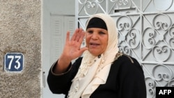 Manoubia Bouazizi, the mother of Mohamed Bouazizi, in a 2011 photograph