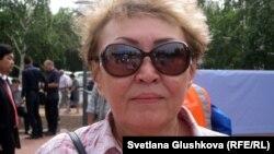 Тарихшы ғалым Айман Досымбаева. Астана, 31 мамыр 2012 жыл.