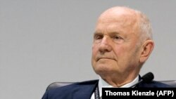 Фердинанд Пиех, бывший глава автоконцерна Volkswagen. Штутгарт, 30 мая 2017 года.