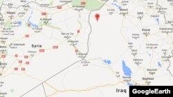 Мапа на градот Ал Бааџ